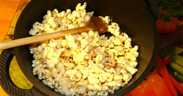 Popcorn-Bananenchips